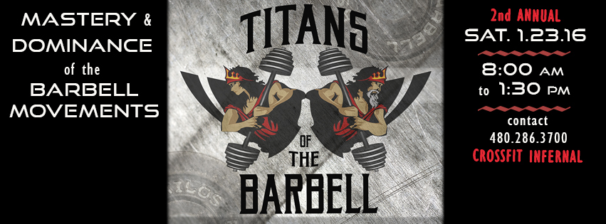 2nd Annual Titans Of The Barbell