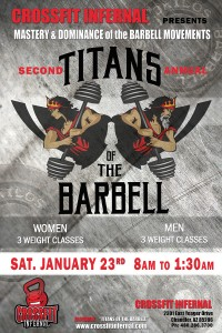 2nd Annual TITANS OF THE BARBELL digital file